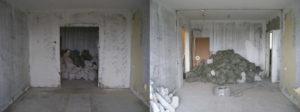демонтаж стен в Москве недорого